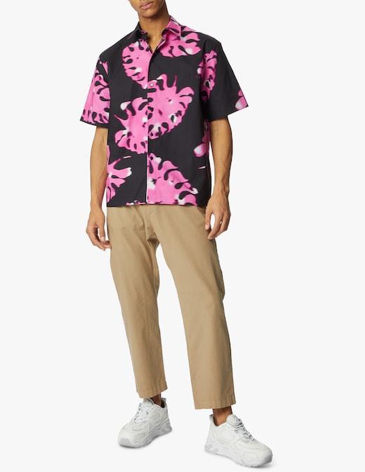 rinascente MSGM Leaves short sleeve shirt