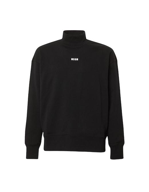 rinascente MSGM Tutleneck logo sweatshirt