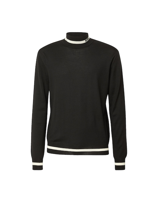 rinascente MSGM Tutleneck logo jumper