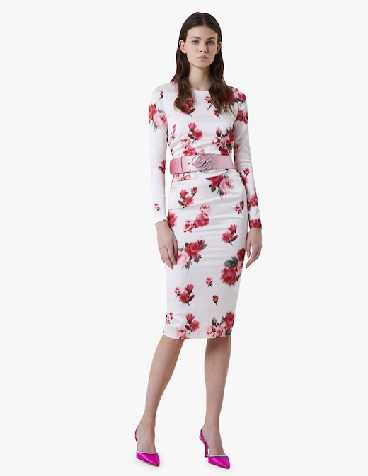 rinascente Blumarine Floral midi dress