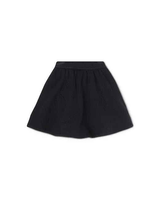rinascente Mimisol Logo jacquard skirt