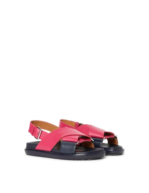 rinascente Marni Fussbett leather sandals