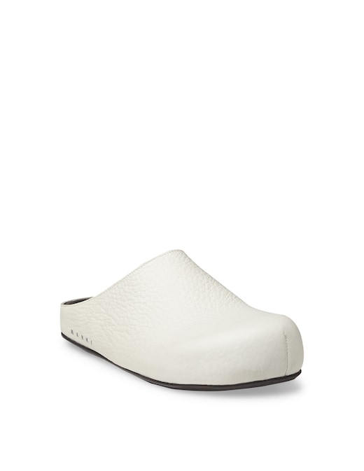 rinascente Marni Mules in calf leather with logo on the side