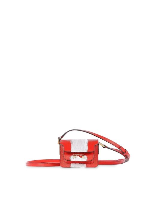 rinascente Marni Saffiano leather cross body bag