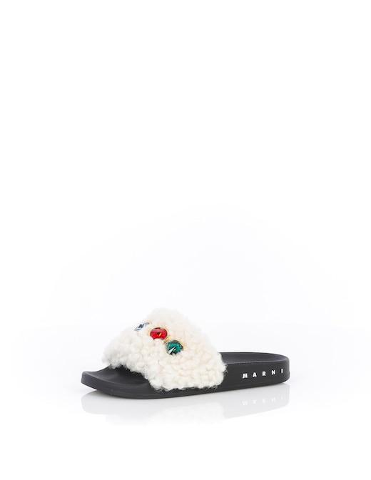 rinascente Marni Fur slides