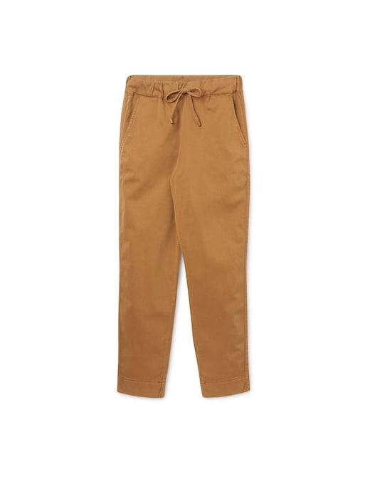rinascente Max Mara Leisure Terreno cotton satin trousers