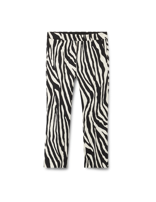rinascente Sportmax Cropped animalier trousers