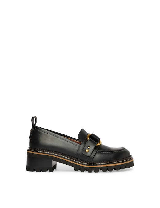 rinascente See By Chloé Leather loafers