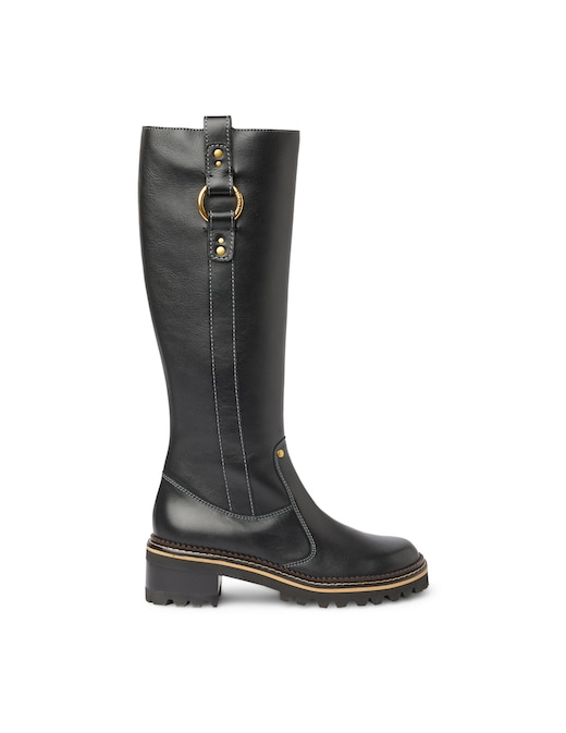 rinascente See By Chloé Texan leather boots