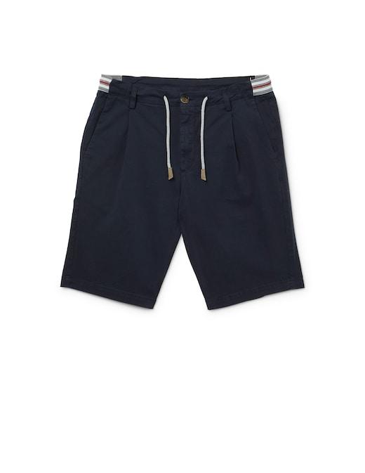 rinascente Eleventy Pantalone corto jogger  bicolore