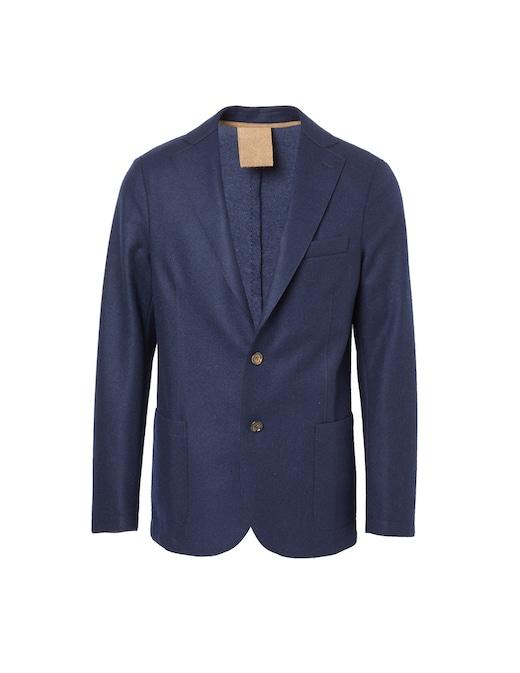 rinascente Eleventy Wool single-breasted blazer jacket