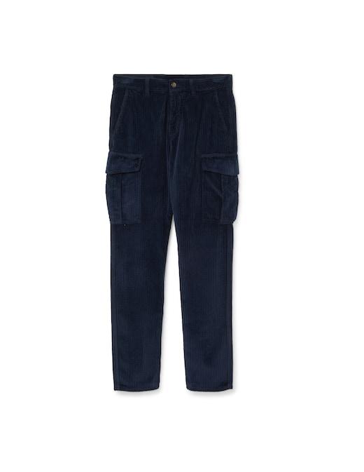 rinascente Eleventy Velvet stone cargo pants