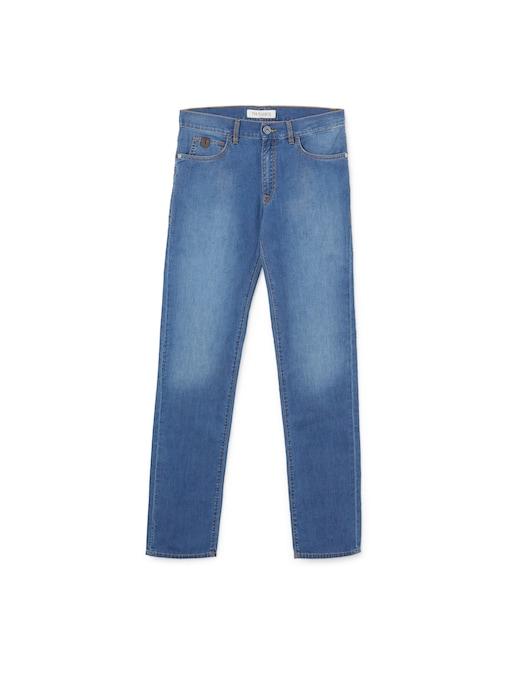 rinascente Trussardi 380 icon light denim trousers