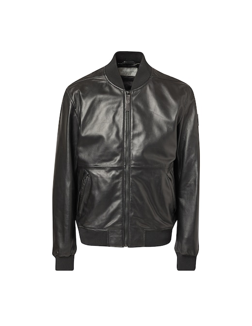 rinascente Trussardi Soft touch leather bomber