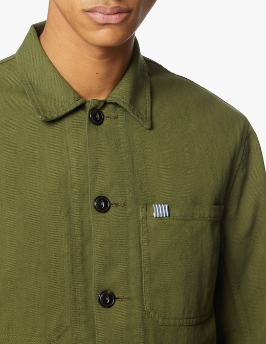 rinascente In The Box Flower and stripes pocket overshirt