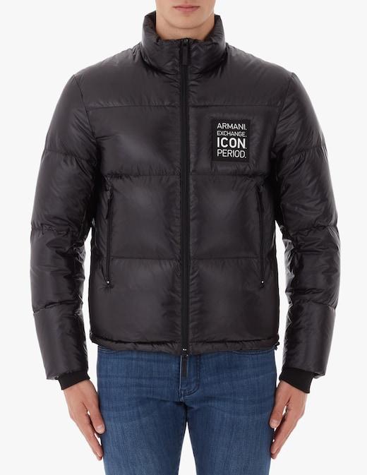 rinascente Armani Exchange Icon puffer jacket