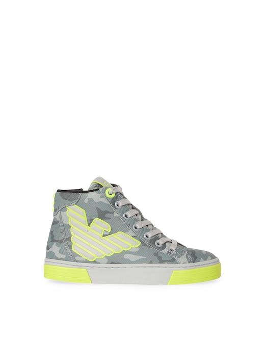 rinascente EA7 Sneakers alte con lacci