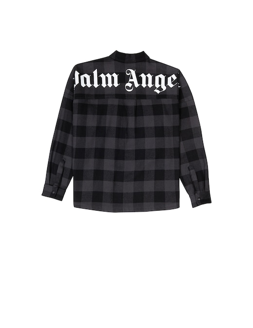 rinascente Palm Angels Checked overshirt