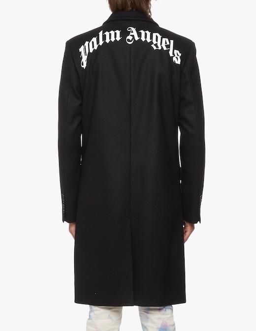 rinascente Palm Angels Cappotto gothic con logo
