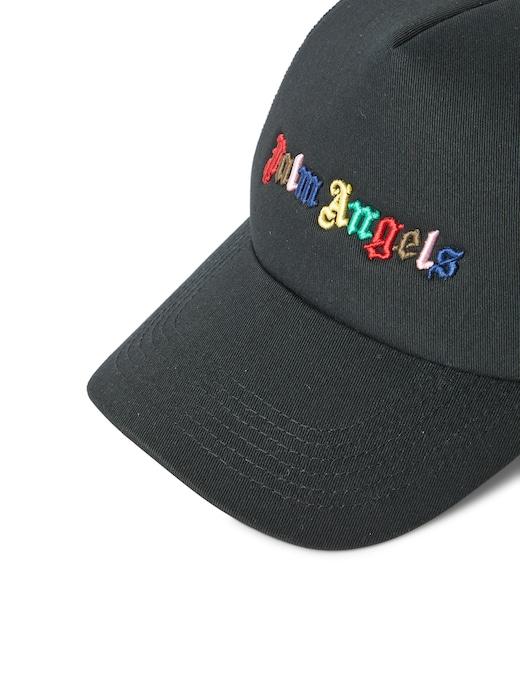 rinascente Palm Angels Rainbow logo cap