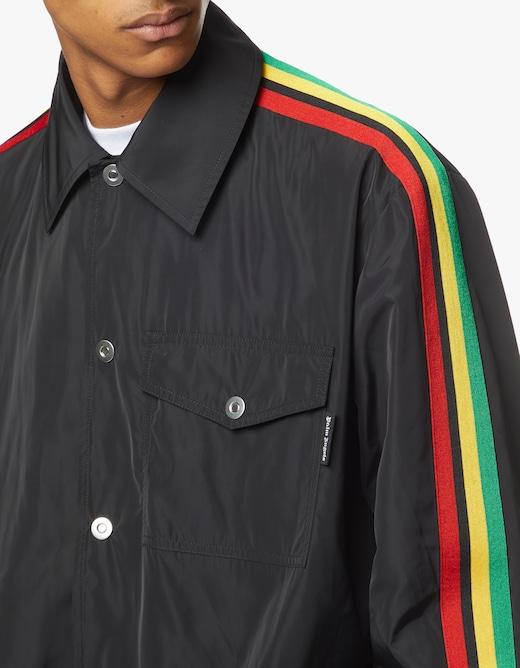 rinascente Palm Angels Coach jacket miami logo