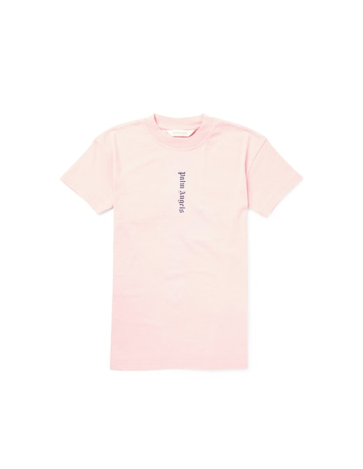 rinascente Palm Angels Cotton t-shirt dress with over logo