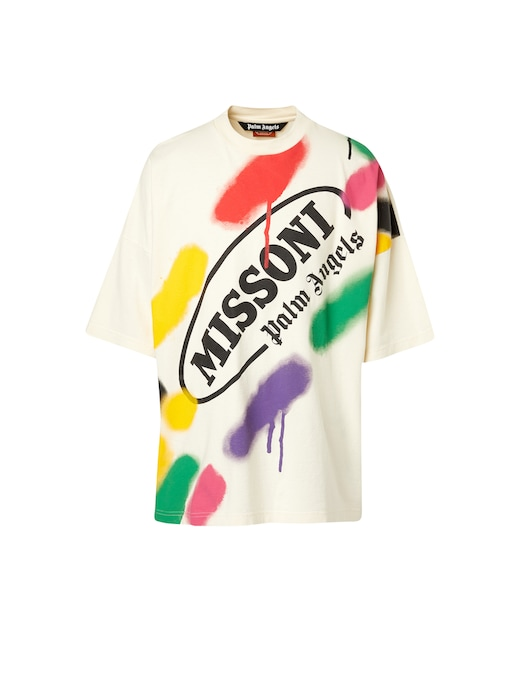 rinascente Palm Angels Palm angels x missoni over t-shirt