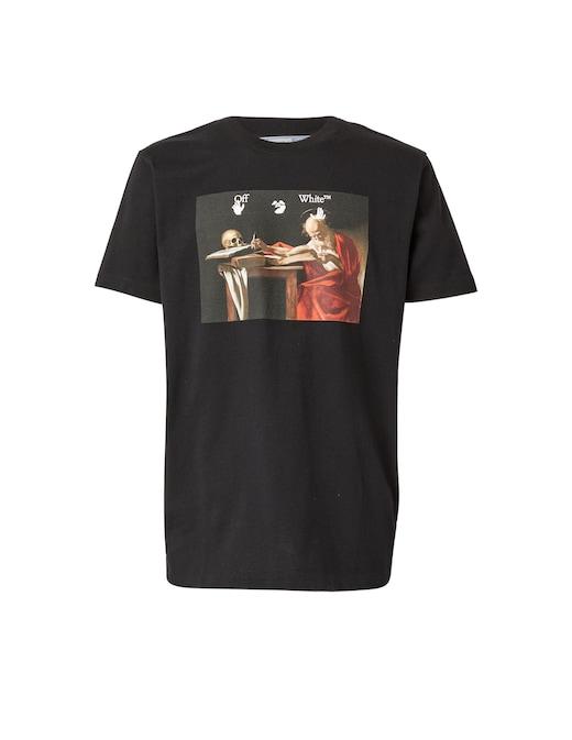 rinascente Off-White Caravaggio slim t-shirt
