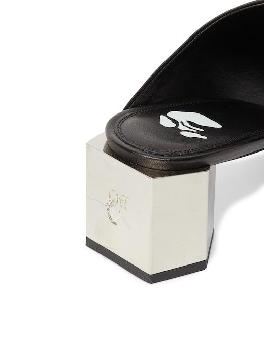 rinascente Off-White Mule con tacco e logo