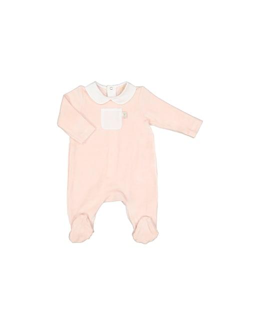 rinascente Filobio Baby onesie with collar and pocket
