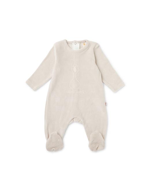 rinascente Filobio Baby onesie with embroidery
