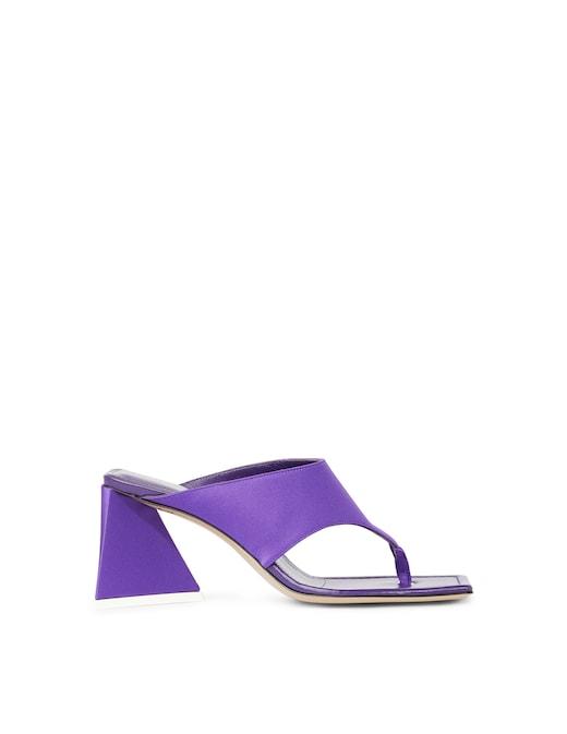 rinascente The Attico Devon thong heeled sandals