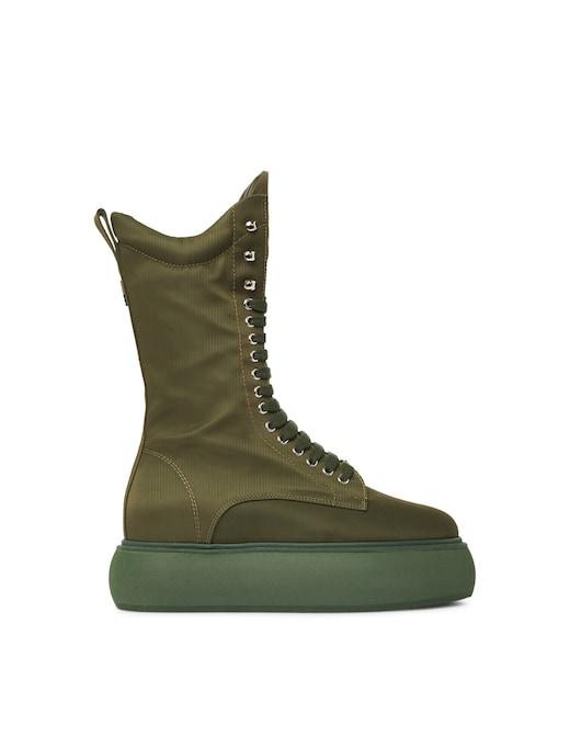 rinascente The Attico Selene combat boots  with flatform