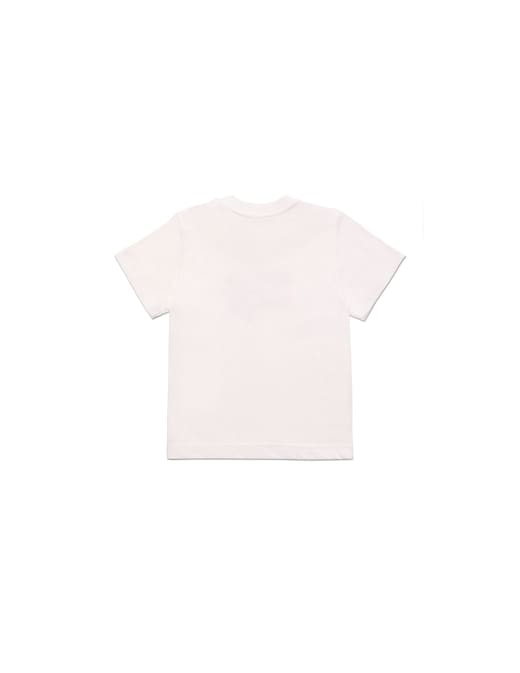 rinascente Diesel T-shirt in cotone con patch diesel brave