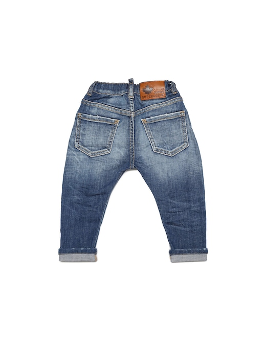 rinascente Dsquared2 Baby jeans - light wash  with abrasion