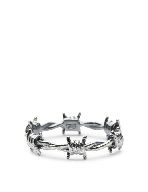 rinascente NOVE25 Barbed wire fine ring