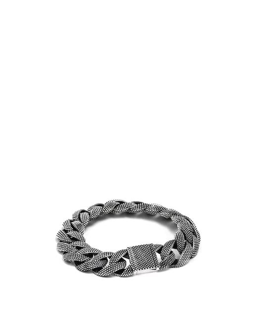 rinascente NOVE25 Dotted curb bracelet