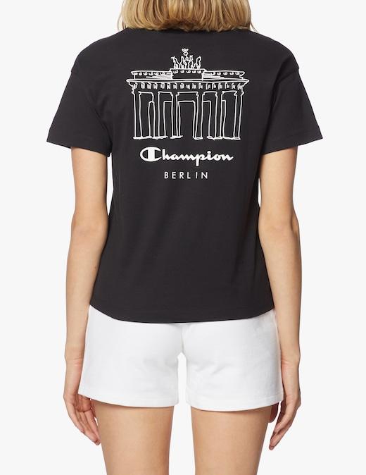 rinascente Champion T-shirt con stampa Berlino