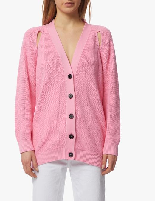 rinascente MSGM Cotton v-neck sweater