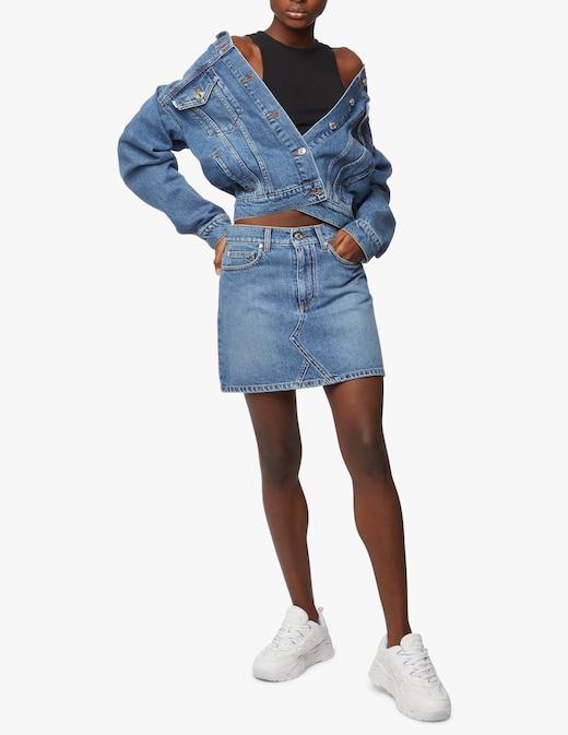 rinascente MSGM Giacca di jeans con logo