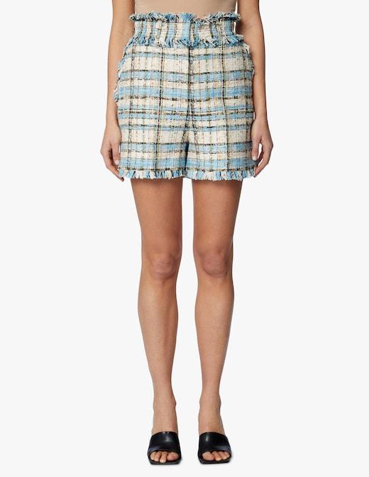 rinascente MSGM Tweed shorts