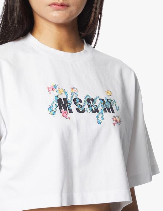 rinascente MSGM T-shirt in cotone con logo