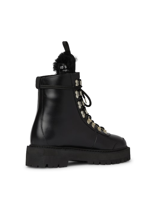 rinascente Off-White Leather hiking boots