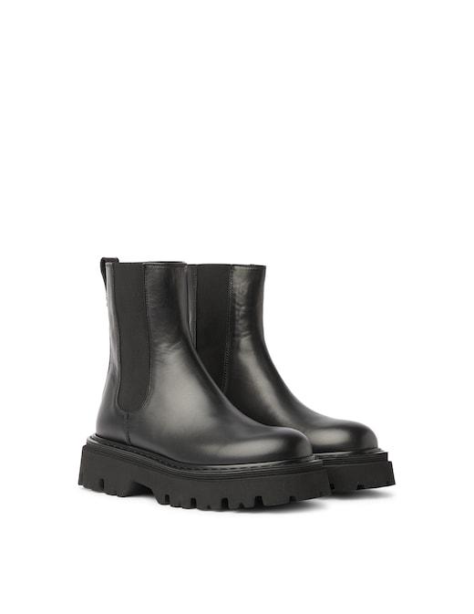 rinascente Casadei Leather chealsea boots Trappeur