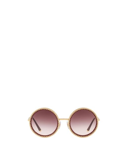rinascente Dolce & Gabbana Round Frame Sunglasses DG2211