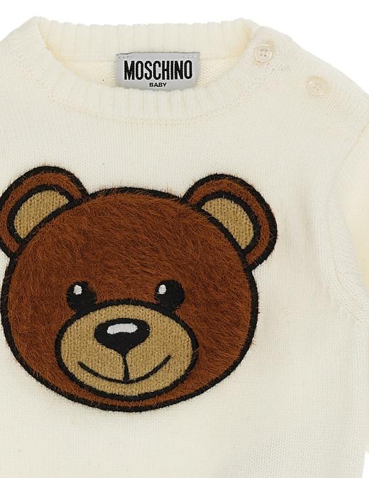 rinascente Moschino Cotton roundneck sweater