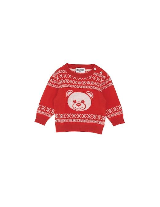 rinascente Moschino Wool roundneck sweater