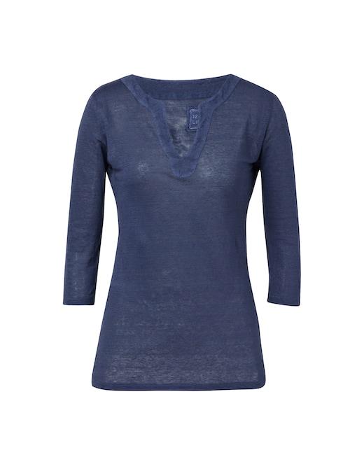 rinascente 120% Lino T-shirt manica 3/4 in lino