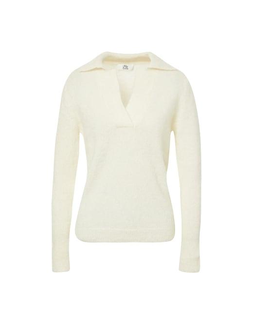 rinascente Attic and Barn Mohair blend polo shirt