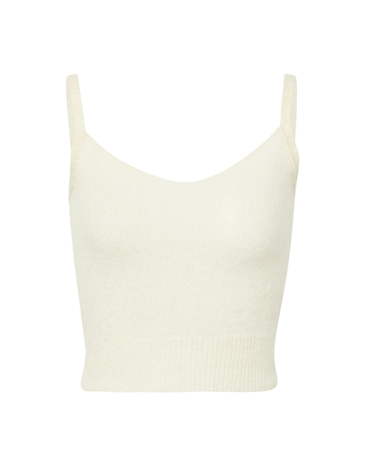 rinascente Attic and Barn Mohair blend cropped top